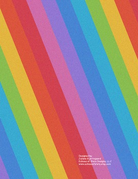 Rainbow Binder Cover {Editable}