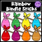 Rainbow Bindlesticks Clipart