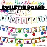 Rainbow Birthday Bulletin Board (Editable)