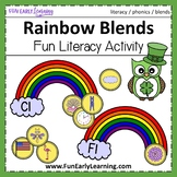 Rainbow Blends Phonics Activity