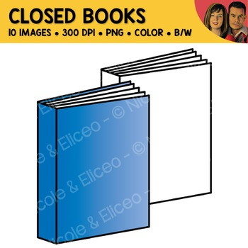 FREE Closed Book Clipart