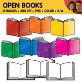Open Book Clipart