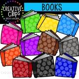 Rainbow Books Clipart {Creative Clips Clipart}