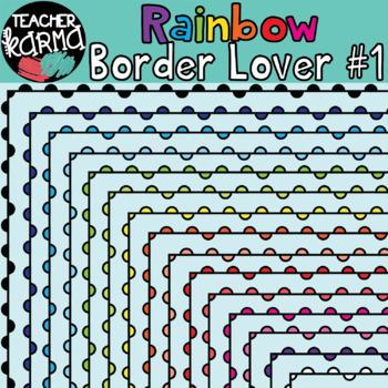 Rainbow Border Lover Set #1