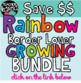 Rainbow Border Lover Set #1
