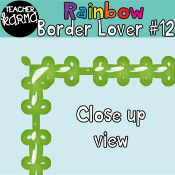 Rainbow Border Lover Set #12