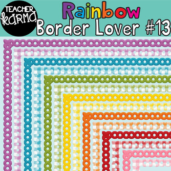Rainbow Border Lover Set #13