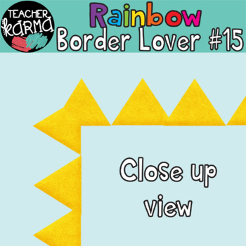Rainbow Border Lover Set #15