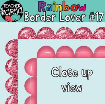 Rainbow Border Lover Set #17