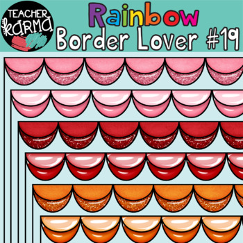 Rainbow Border Lover Set #19