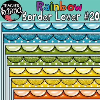 Rainbow Border Lover Set #20