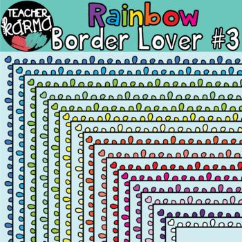 Rainbow Border Lover Set #3