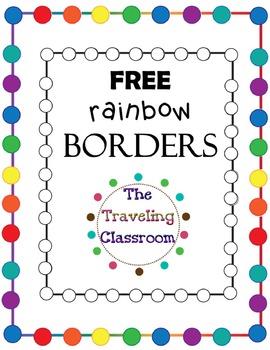 FREE Rainbow Borders