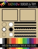 Rainbow Borders and Trim Pack