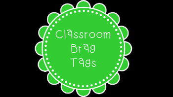 Rainbow Brag Tags