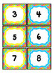 Rainbow Bright Crazy Circles Number Posters and Cards: 0-20, Even and Odd Colors
