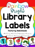 Rainbow Library Labels feat. Melonheadz with corresponding