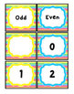 Rainbow Bright Stripes, Number Posters and Cards: 0-20, Even and Odd Colors