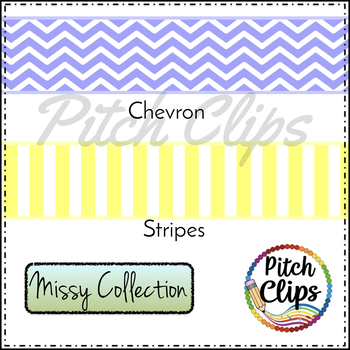 266 Digital Ribbons - Clipart (Clip Art) Stitched, Chevron, Gingham, Polka Dot