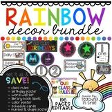 Rainbow Brights Decor BUNDLE