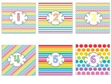 Rainbow Brights Numbers