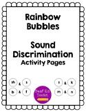 Rainbow Bubbles- Sound Discrimination