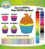 Build A Cupcake Clipart {Zip-A-Dee-Doo-Dah Designs}