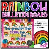 Rainbow Bulletin Board