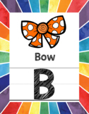 Rainbow Bundle (Calendar, Word Wall, Numbers, ABC Posters)