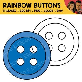 Rainbow Buttons Clipart