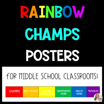 Rainbow CHAMPS Poster