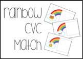 Rainbow CVC Matching Task Box activity