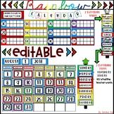 Rainbow Calendar Kit