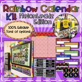 Rainbow Calendar Kit- Melonheadz Edition
