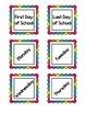 Rainbow Calendar Set