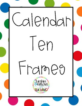 Rainbow Calendar Ten Frames