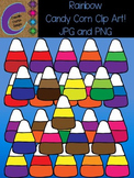 Rainbow Candy Corn Clip Art  Color Images