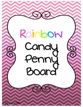 Rainbow Candy Penny Board