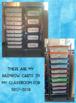 Rainbow Cart Labels- 15 drawer cart OR 10 drawer cart