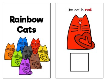 Rainbow Cats Adapted Book (FREEBIE)
