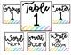 Rainbow Center Labels