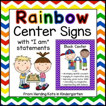 Rainbow Center Signs