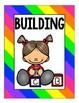 Rainbow Center Signs for Preschool, Prek, and Kindergarten