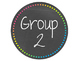 Rainbow Chalkboard Table/Group Sign