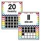 Rainbow Chevron-10 Frame Posters
