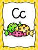 Rainbow Chevron Alphabet Posters