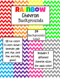 Rainbow Chevron Backgrounds