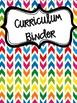 Rainbow Chevron Binder Covers! Over 120 types!