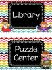 Rainbow Chevron Center Labels 2