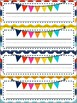 Rainbow Chevron Name Tags (Non-editable)